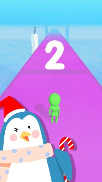 冰雪跑酷冰楼梯游戏图1