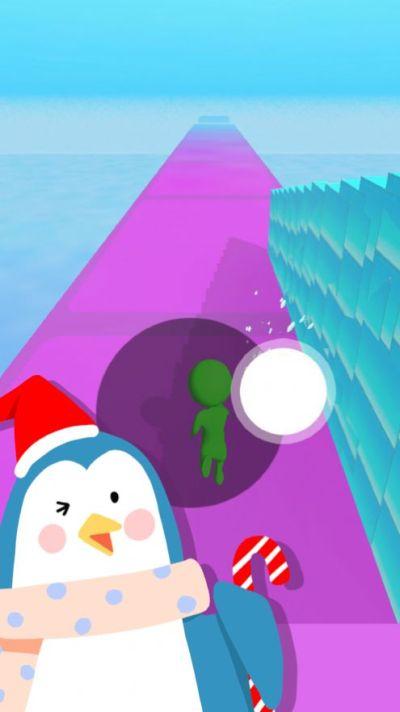 冰雪跑酷冰楼梯游戏图3
