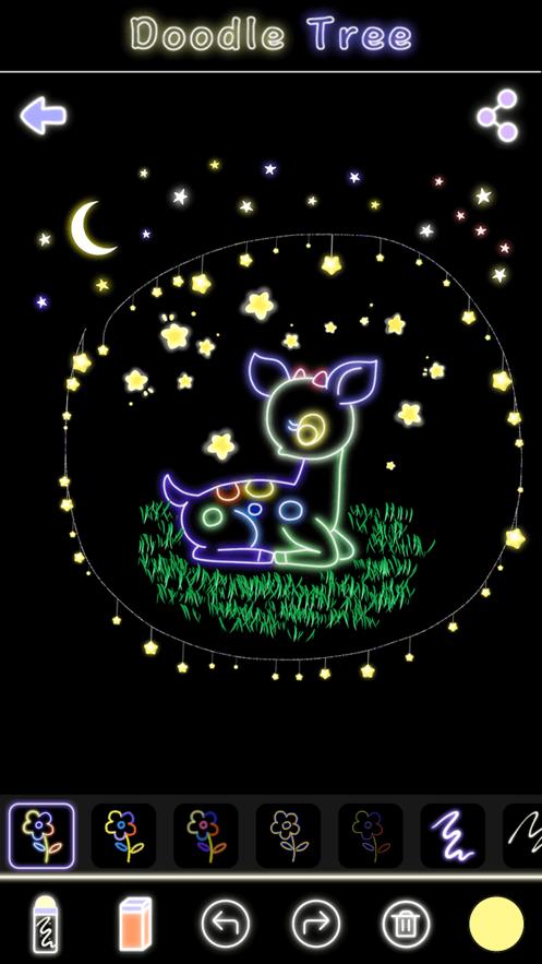 荧光涂鸦树完整版软件图片2