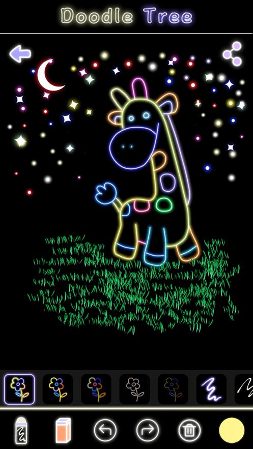 荧光涂鸦树软件图2