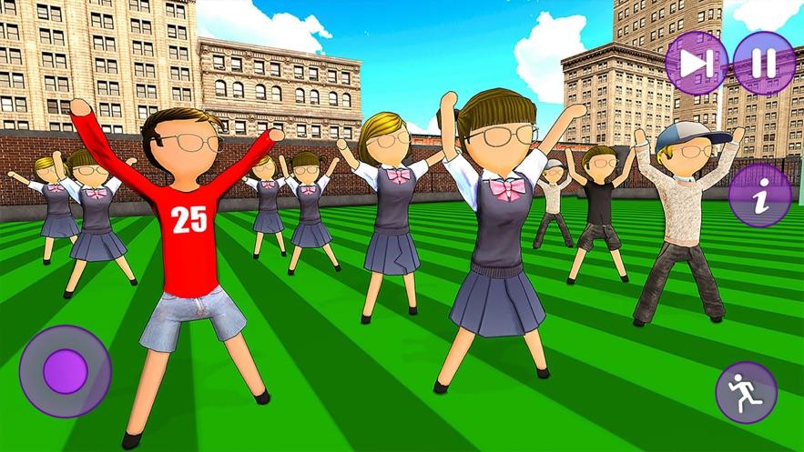坚持女孩高中游戏3D游戏安卓版图片1