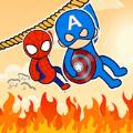 英雄救援绳索难题