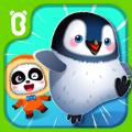 小熊猫的企鹅奔跑