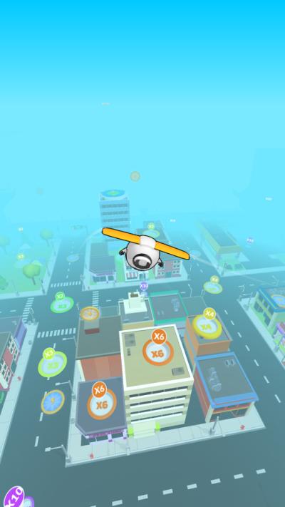 超能滑翔机3D游戏图2