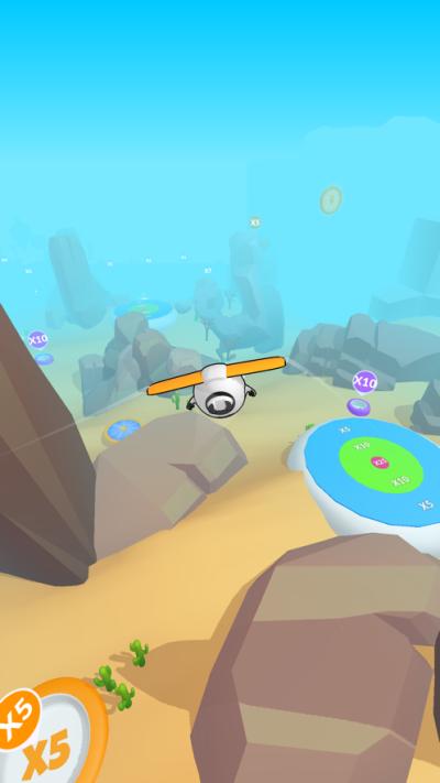 超能滑翔机3D游戏图3