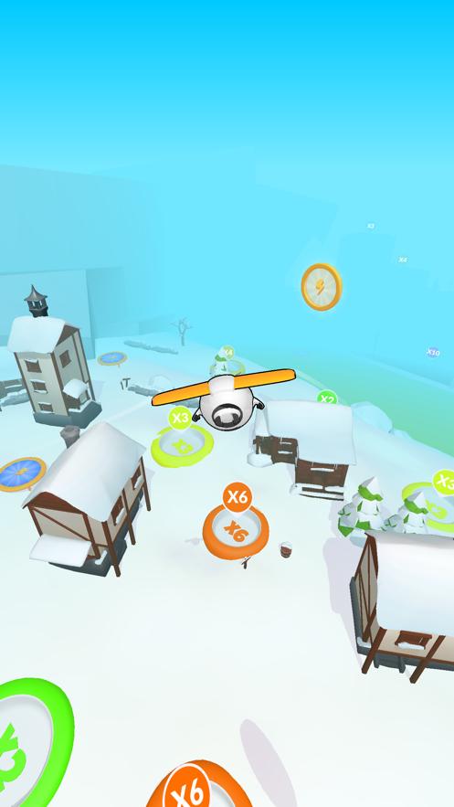 超能滑翔机3D游戏图1