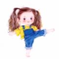 小男孩小女孩踢腿卡通情侣头像无水印 v1.0