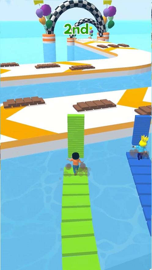 搭个桥快跑无限金币最新破解版图片3