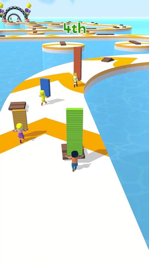 搭个桥快跑无限金币最新破解版图片2