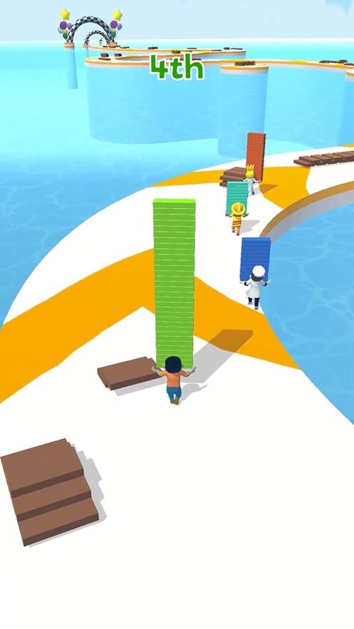 搭个桥快跑破解版图1