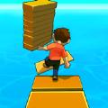 捡木板过河游戏