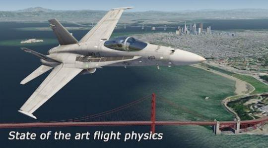模拟航空飞行2021中文版图1