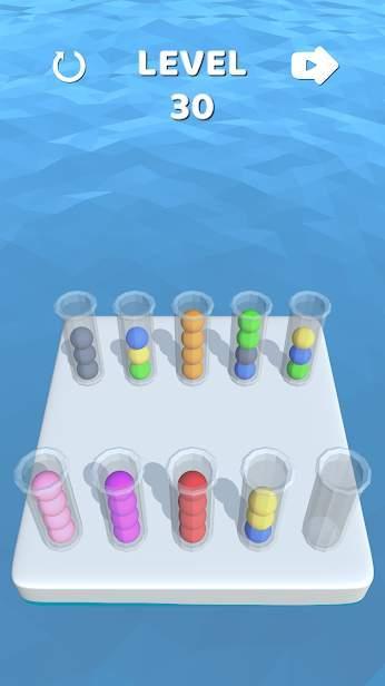 试管彩球3D游戏图1