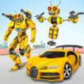 蜜蜂机器人变换