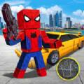像素蜘蛛侠绳索英雄游戏安卓版 v1.0