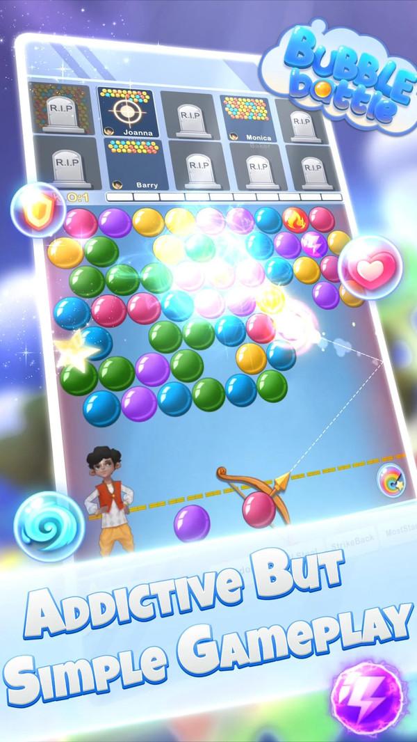 女神泡泡战游戏图2