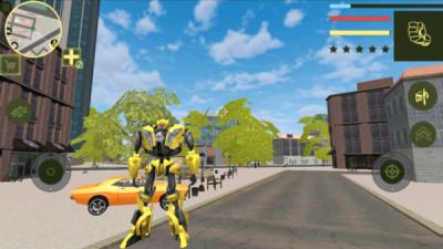 超级黄金机器人游戏图2