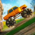 越野攀登怪物卡车山赛车