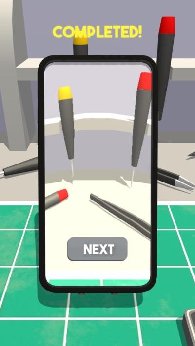 我修手机贼六游戏安卓版(Repair Master 3D)图片2