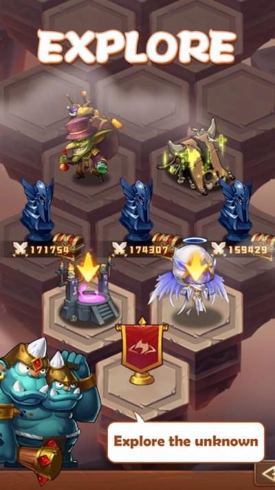 部落骑士史诗游荡游戏图2