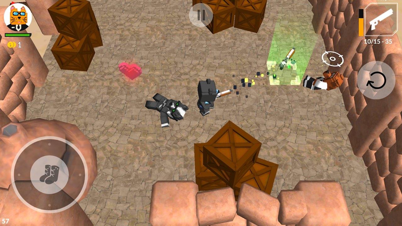 猫与狗射击游戏安卓版图片1