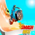 超级自行车撞车比赛