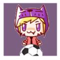 紫猫头女孩