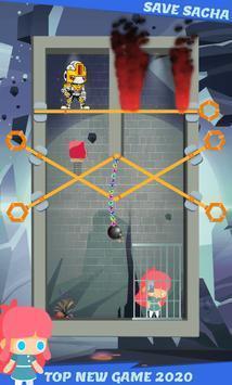 拯救萨莎英雄营救游戏图2