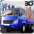 迷你卡车运输3D