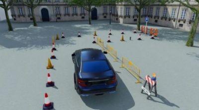 开小轿车游戏带导航很真实的3D版图片1