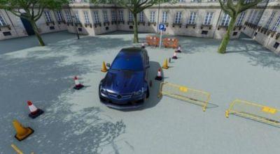开小轿车游戏带导航很真实的3D版图片2