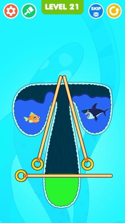 抖音救鱼小游戏图片1