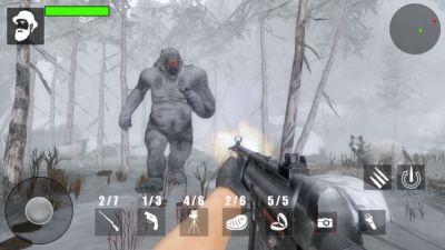雪人怪物森林狩猎游戏图1