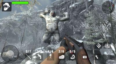 雪人怪物森林狩猎游戏安卓版图片1