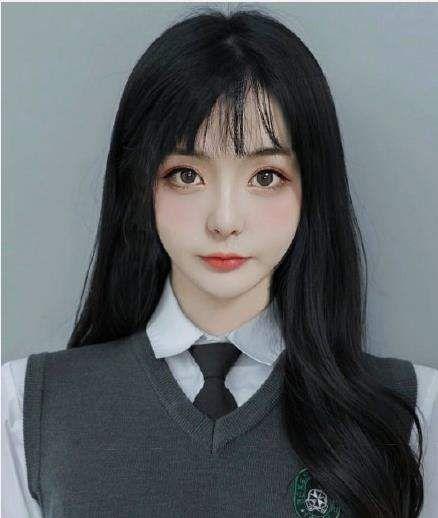 韩国证件照素材抖音 韩国证件照高清模板女图[多图]图片1