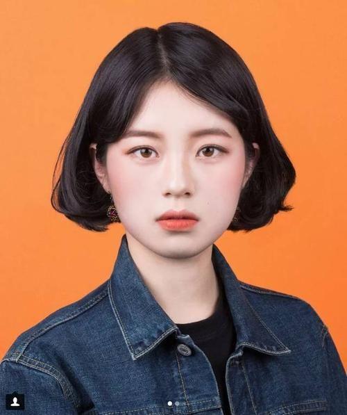 韩国证件照素材抖音 韩国证件照高清模板女图[多图]图片5