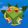 立方体中的蛇