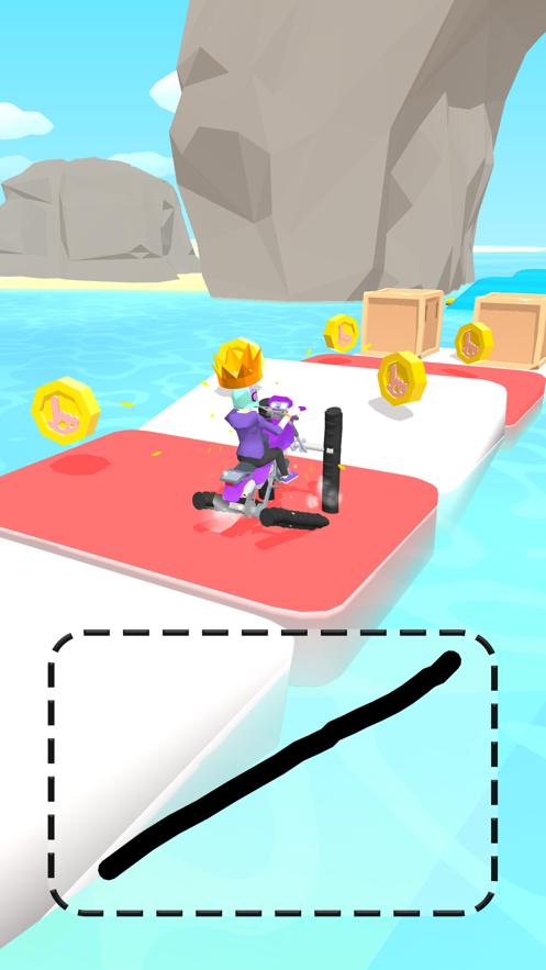 画个轮子涂鸦骑士游戏安卓版图片1