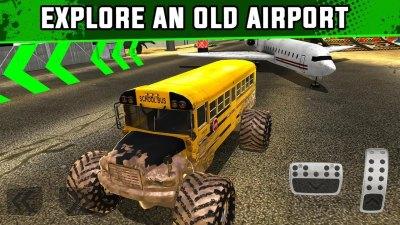 怪物卡车XT机场德比破解版图1