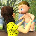 虚拟妈妈婴儿护理游戏