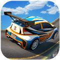 空中坡道汽车特技3D
