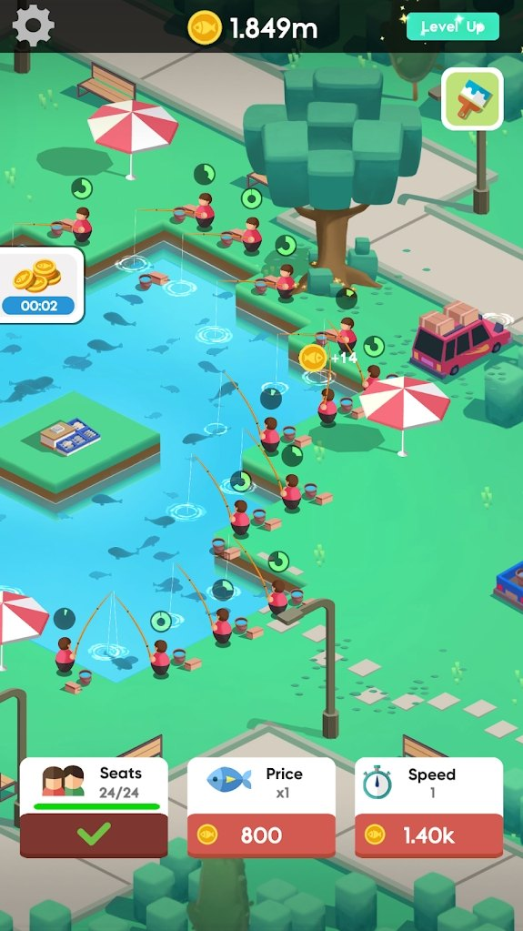 空闲钓鱼俱乐部游戏官方版图片2