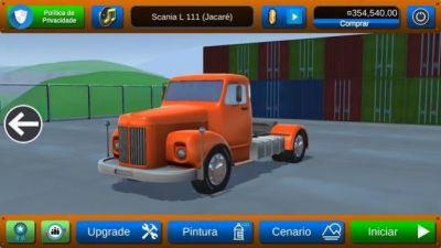 卡车爬坡比赛游戏图1