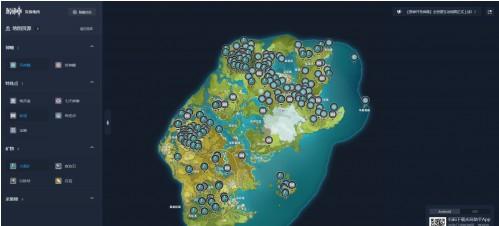 原神地图资源点分享 全地图资源刷新位置介绍[多图]