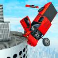 巨型坡道汽车特技挑战