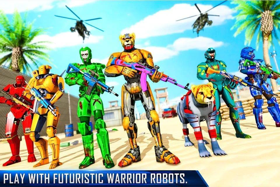 反恐机器人射击破解版图3