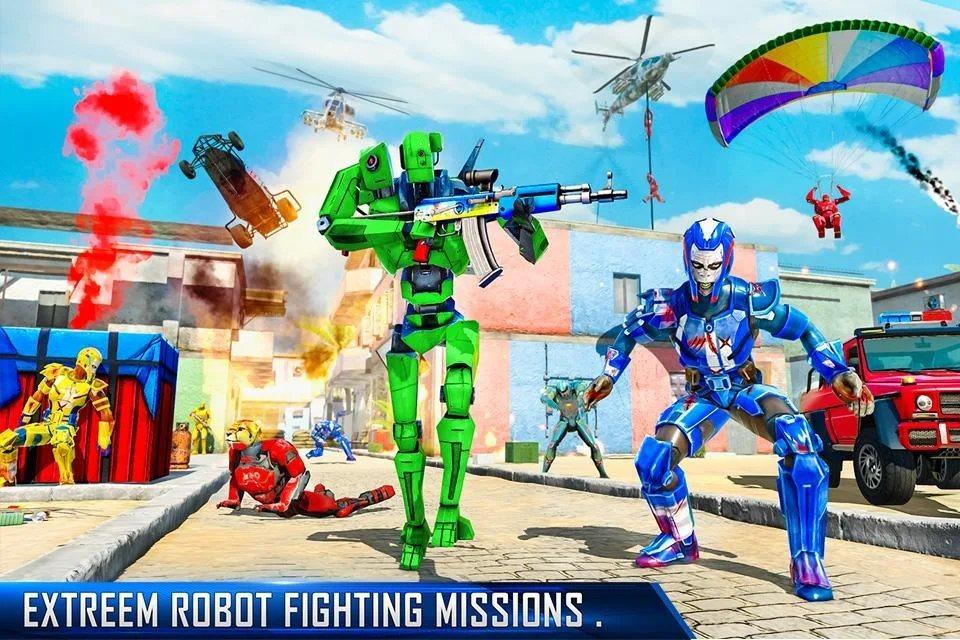 反恐机器人射击人物无敌破解版图片1
