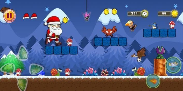 超级圣诞老人闯关游戏图2