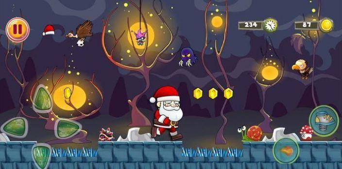 超级圣诞老人闯关游戏安卓版图片1