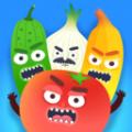 飞刀插水果
